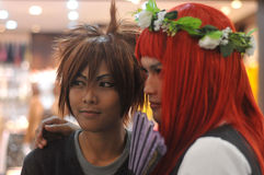 Concorrenza di cosplay in Indonesia Immagine Stock