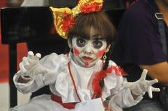 Concorrenza di cosplay in Indonesia Fotografie Stock