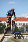 Concorrenza di Enduro - RedBull Romaniacs Sibiu 2012 Immagine Stock Libera da Diritti