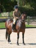 Concorrenza di equitazione fotografie stock libere da diritti