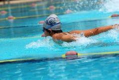 Concorrenza di nuoto Immagini Stock