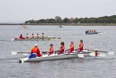 Concorrenza internazionale 2010 di riga del mare Immagine Stock Libera da Diritti