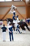 Concorrenza internazionale del Vaulting, Slovacchia Immagine Stock Libera da Diritti