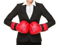 Concorrenza pronta - concetto di affari Immagini Stock Libere da Diritti