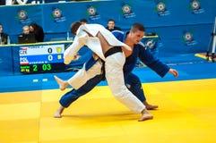 Concorsi di judo Immagine Stock Libera da Diritti