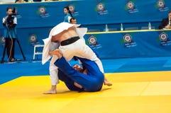 Concorsi di judo Immagine Stock