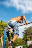 Concorsi dilettanti dell'allenamento della via Fotografia Stock Libera da Diritti