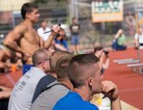 Concorsi dilettanti dell'allenamento della via Fotografia Stock