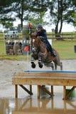 Concorso completo - sport equestre Fotografie Stock