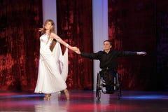 Concorso di dancing in Kremenchuk, Ucraina immagine stock libera da diritti