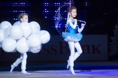 Concorso 2013 di rhythmics della Bambino-tazza a Minsk, Bielorussia Immagine Stock