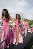 Concours dans le coup manqué Equateur 2008 de montanita Photos stock