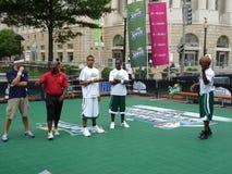 Concours de basket-ball au festival Photos libres de droits
