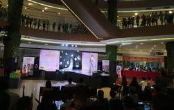 Concours de beauté aux Philippines photos libres de droits