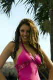 Concours de beauté de contestant de lloret d'Estefania Images libres de droits