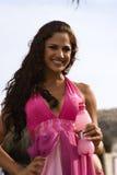 Concours de beauté de contestant de pazmino de Jennifer Photos libres de droits