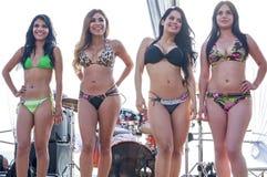 Concours de bikini Photo libre de droits