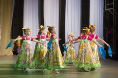 Concours de danse de DancePower, Minsk, Belarus Photographie stock libre de droits