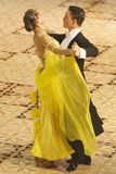 Concours de danse de salle de bal Photo stock