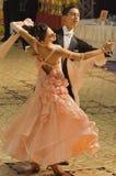 Concours de danse de standard ouvert, 16 - 18 (1) Images stock