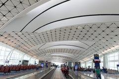 Concours de Hong Kong International Airport Midfield photographie stock