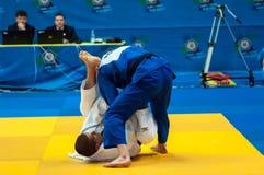 Concours de judo Image stock