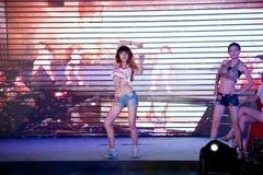 Concours de Mlle International Jiangxi d'houblon-Le de hanche cinquante-premier Photo libre de droits