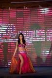 Concours de Mlle International Jiangxi de danse-Le de ventre cinquante-premier Images libres de droits