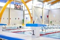 Concours de natation photographie stock libre de droits