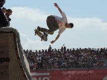 Concours 2015 de patin de fourgons image libre de droits