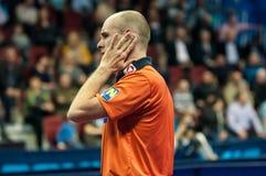 Concours de ping-pong Photos libres de droits