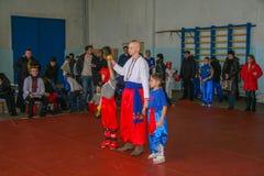 Concours en arts martiaux photos stock