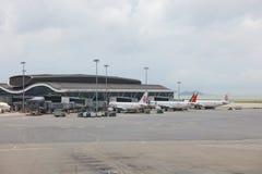 concours satellite du nord d'aéroport du HK Photo libre de droits
