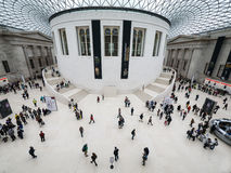 Concourse at The British museum Royalty Free Stock Images