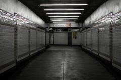 Concourse in Center City, Philadelphia, Pennsylvania.  royalty free stock images