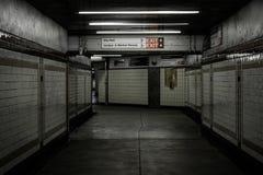 Concourse in Center City, Philadelphia, Pennsylvania.  stock image