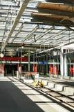 Concourse at Railway train station at Zermatt Valais Swiss Royalty Free Stock Photography