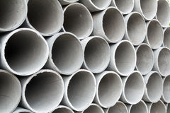 Concreate Pipe, End View Royalty Free Stock Photo