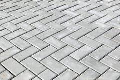 Concreet baksteenpatroon Royalty-vrije Stock Foto's