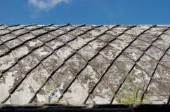 Concreet dak bij taman het waterkasteel van Sari - de koninklijke tuin van sultanaat van Jogjakarta Royalty-vrije Stock Foto's