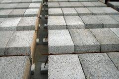 Concreet elementen en staal - Royalty-vrije Stock Afbeelding