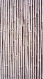 Concreet het bamboepatroon van de muurtextuur Stock Afbeeldingen