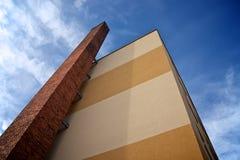 Concreet huis Stock Afbeelding