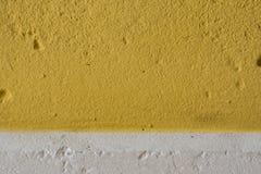Concreet textuur geel wit Stock Foto's