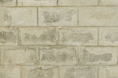 Concret brick gray background of natural cement Royalty Free Stock Images