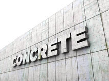Concrete Royalty Free Stock Image