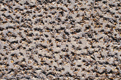 Concrete. Close up of concrete pavement in street Stock Photos