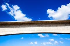 Concrete Arch Blue Sky Stock Photo