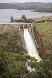 Water Released at Myponga Dam, South Australia Stock Photography