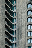Concrete Architectural steps in the barbican area of London Stock Photography